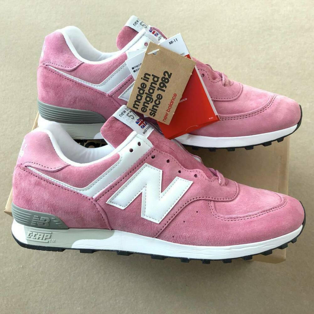 New Balance M576PNK Dimensione US8.5D JP26.5cm rosa x bianca Made in England