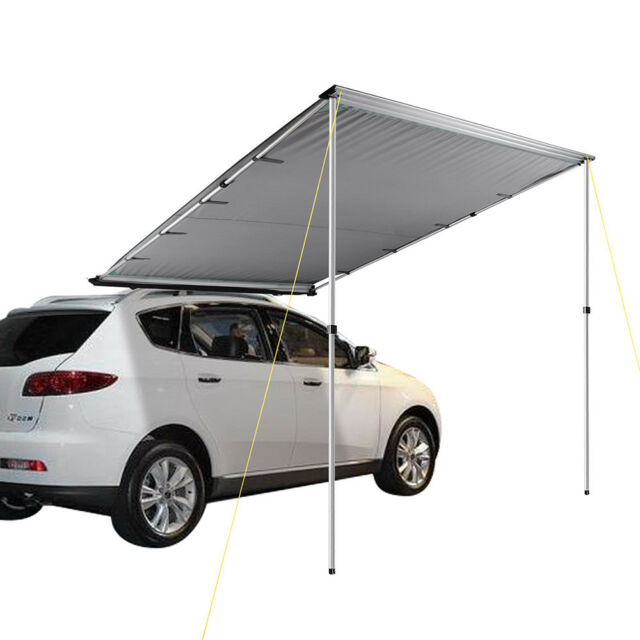 6.6x8.2ft Car Side Awning Rooftop Tent Sun Shade SUV Outdoor C&ing Travel Grey  sc 1 st  eBay & 6.6x8.2ft Car Side Awning Rooftop Tent Sun Shade SUV Outdoor Camping ...