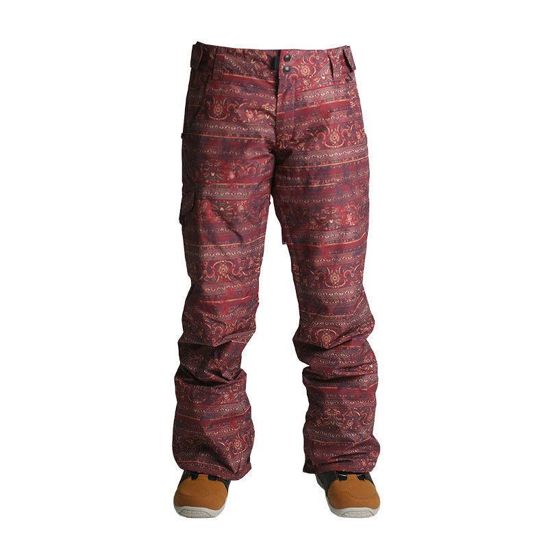 RIDE Women's ROXHILL Snow Pants - Magic Carpet Print - Small - NWT