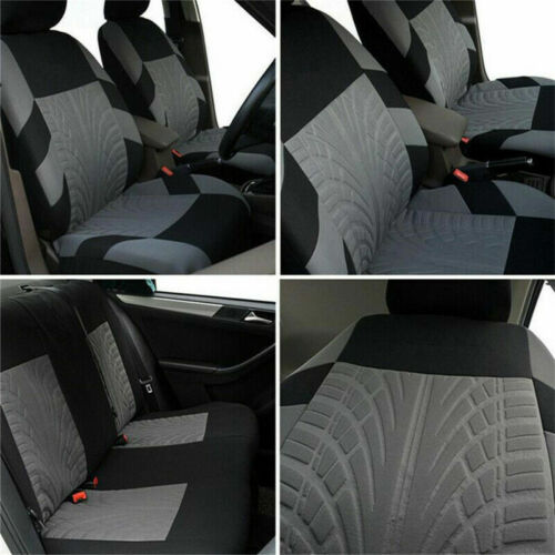 9Pcs Full Set Universal Auto Seat Covers Protector Car Truck SUV Van 4 Colors