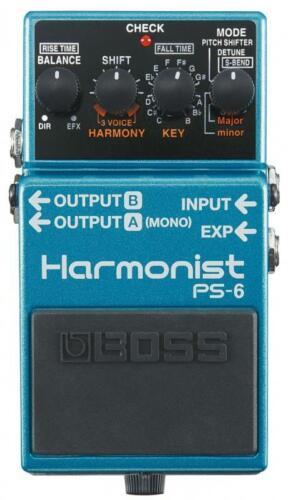 Boss PS-6 Harmonist Pedal