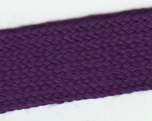 1 m Galon Tresse souple Acrylique Plate Violet 24 mm