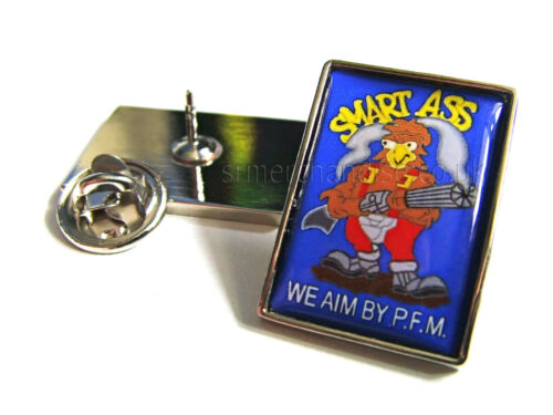 ALIENS MARINES DROP SHIP SMART ASS WE AIM BY PFM LAPEL PIN BADGE TIE PIN GIFT
