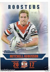 2017-NRL-Traders-Parallel-Special-PS132-Mitchell-AUBUSSON-Roosters
