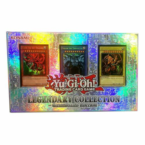 jeu edition YuGiOh Legendary Collection 1 6 booster packs, promos, + board