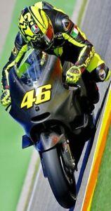 Plaque métal   moto de course  30 X 20 CM