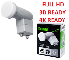Twin LNB Konwenter DigiSat Opticum Premium  Ready for HD 3D 4K POLSAT, NC+ SKY