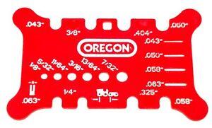 Oregon Chainsaw Chain Saw Bar Amp Chain Pitch Gauge File