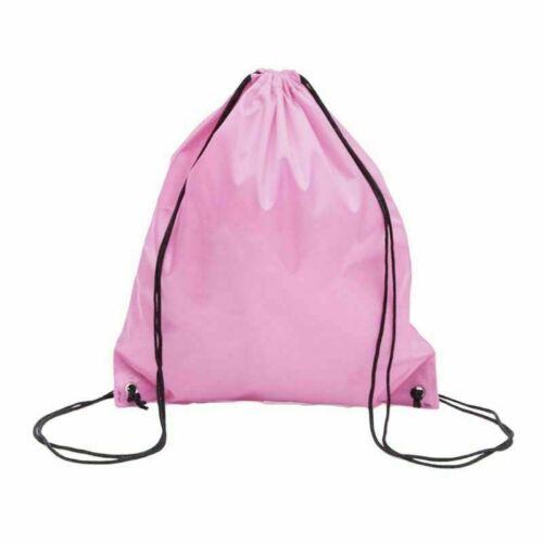School Drawstring Bag Boys Girls Kids Swim Gym Sack Dance PE Shoe Sport Backpack