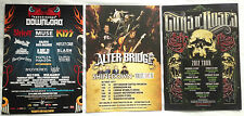 3x promo FLYERS download 2015 / ALTER BRIDGE 2013 / Guns Roses 2012 halestorm