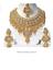 Indian-Cubic-Zirconia-Latest-Wedding-Designer-Kundan-Necklace-Jewelry-Set thumbnail 1