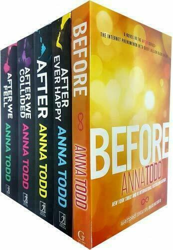 Before After Series 5 Books Adult Collection Paperback Set By Anna Todd For Sale Online Ebay