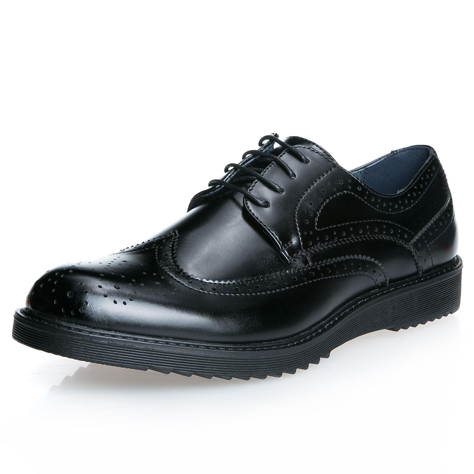 scarpe uomo classiche eleganti francesine 40 41 42 43 44 45 ingrosso ... 7010d31f864