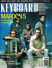 MAROON 5, Ozric Tentacles, Apple Logic Pro 7 Report, 2005 Keyboard Magazine