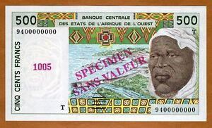 WEST AFRICAN STATE WAS TOGO 500 FRANCS 2019 P 819 T UNC