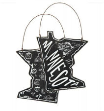 NWT MARYLAND State Shape Black Wooden Ornament Primitives by Kathy