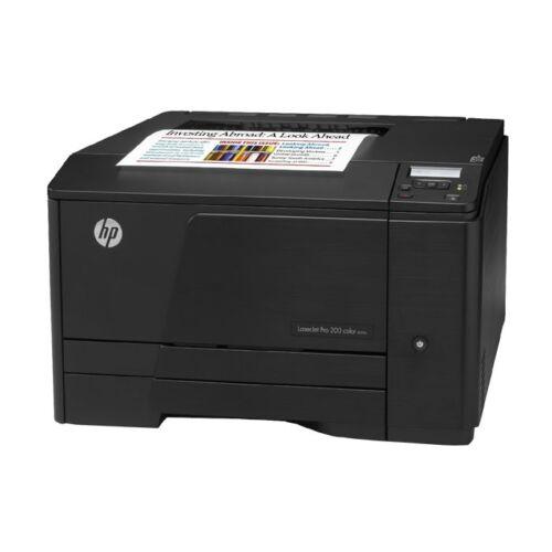 1 von 1 - HP LaserJet Pro 200 Color M251n CF146A FARB Laserdrucker Drucker NETZWERK