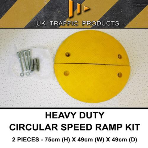 Circular Speed Ramp Hump Kit HEAVY DUTY 75mm