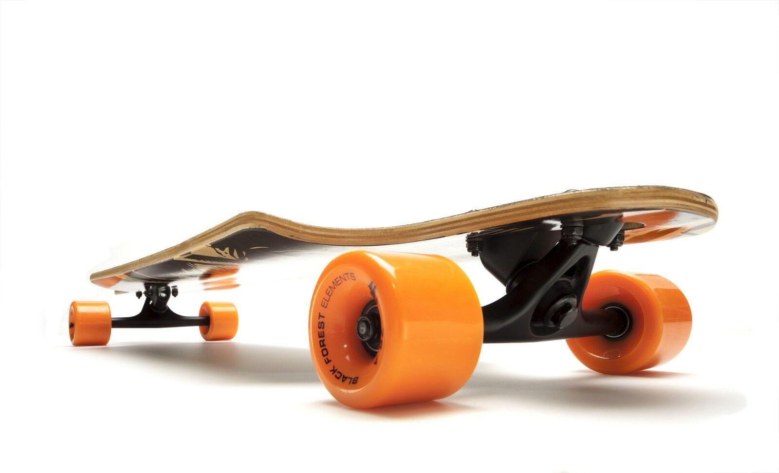 schwarz FOREST DRIFTER  36  Orange - Komplett Skateboard Skateboard Skateboard Longboard - 2724c8