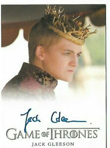 Game of Thrones season 4 Jack Gleeson as Joffrey Autograph Card by Rittenhouse