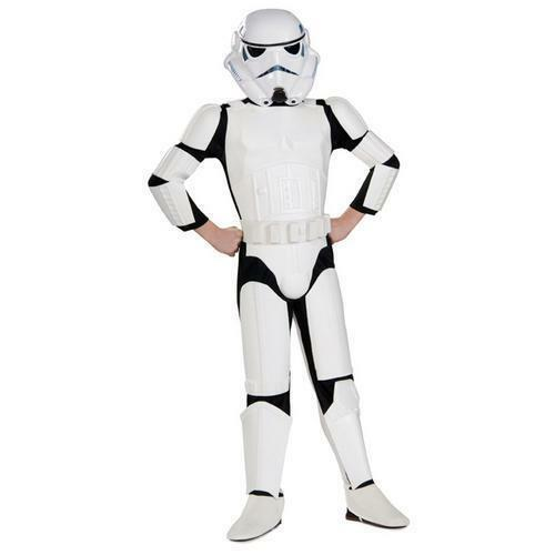 Star Wars Stormtrooper Deluxe Child Costume Movie Rubies 83035 Theme Halloween