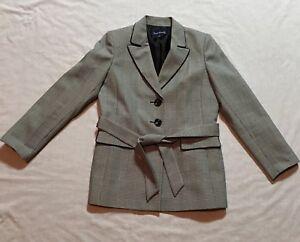 Evan Picone Suit Jacket Size 10 Lining Career Office Work Beautiful Blazer