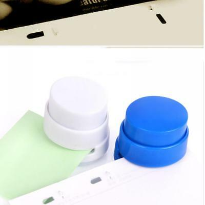 Helpful Cute Portable Stapleless Stapler Paper Binding Binder For Home Office School Hot Keep You Fit All The Time Office Equipment & Supplies