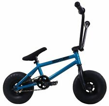 "2017 Mayhem Riot Mini 10"" BMX Bicycle Freestyle Tire Bike Fat Boy Blue Haze"