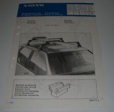 Einbauanleitung Volvo 440 Skiträger Ski Holder Porte-Skis Porta-Esquis 05/1988!
