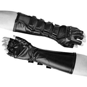 Punk-Rave-Predator-Heren-Handschoenen-Gothic-Cyber-Goth-Fetisj-S-214