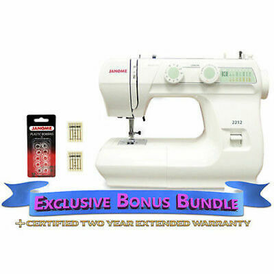Janome 2212 Sewing Machine Includes Exclusive Bonus Bundle Ebay