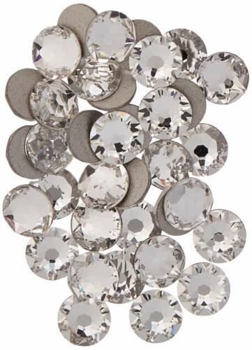 HOTFIX 30ss Crystal CLEAR 288 SWAROVSKI Flatback Rhinestones Wholesale FULL Pack