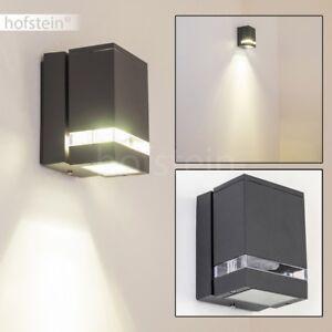 led aussen wand leuchten terrasse aluminium aussenlampe wandlampe balkon lampen ebay. Black Bedroom Furniture Sets. Home Design Ideas