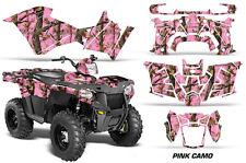 Polaris Sportsman 570 Graphic Kit Wrap Quad AMR Racing Decal ATV 14-17 PINK CAMO