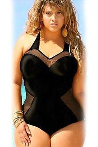 Sexy-costume-bagno-Monokini-intero-moda-mare-Nero-da-donna-41375