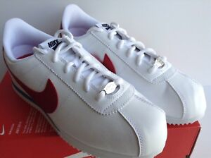 premium selection 60e99 cc1ce Image is loading NIKE-CORTEZ-BASIC-SL-GS-FORREST-GUMP-WHITE-