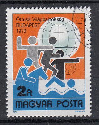 Radient Briefmarken Ungarn 1979 Wm Olympischer Fünfkampf Mi.3370 Gestempelt Europa