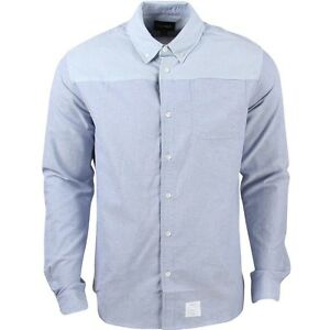 Diamond-Supply-Co-Men-Blocked-Oxford-Shirt-blue-light-blue-navy