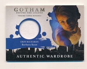 2017-Gotham-Season-2-Barbara-Keen-Erin-Richards-Wardrobe-Costume-Card-M26-E