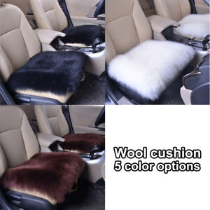 Image Is Loading New Multicolor Warming Sheepskin Mini Rug Chair Car