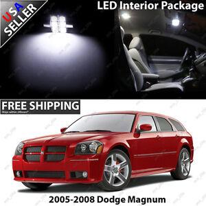 Image Is Loading Dodge Magnum Ultra White LED SMD 4 Door