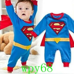 Image Is Loading Lovely Suit Fancy Dress SuperHero Costume For Baby