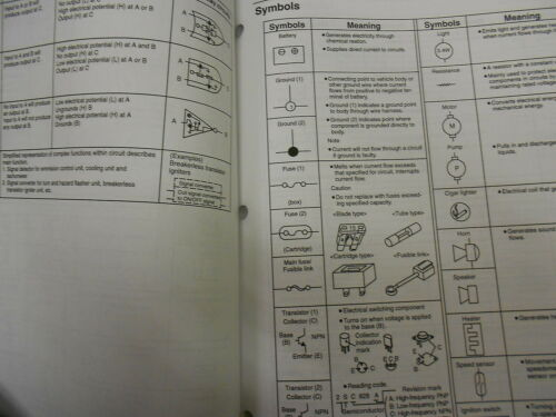 1998 Mazda B-Series Truck Electrical Wiring Diagram Service Repair Shop Manual