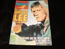 Bruce Lee Magazine KFM KUNG FU MONTHLY 44 Martial Art - Way of The Dragon Poster