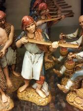 1 pastore fornaio landi 10 cm costumi storici pastori,presepe shepherd crib