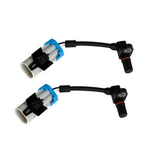 2pcs x ABS Wheel Speed Sensor Rear Left /& Right for 2005-2006 Chevrolet Equinox