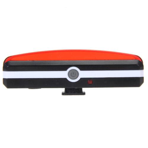 VS2# USB Rechargeable Rear Bike Waterproof 6 Modes Tail Light COB LED Bycicle La