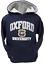 OU129K Kids Licensed Unisex Oxford University Hooded Sweatshirt Navy