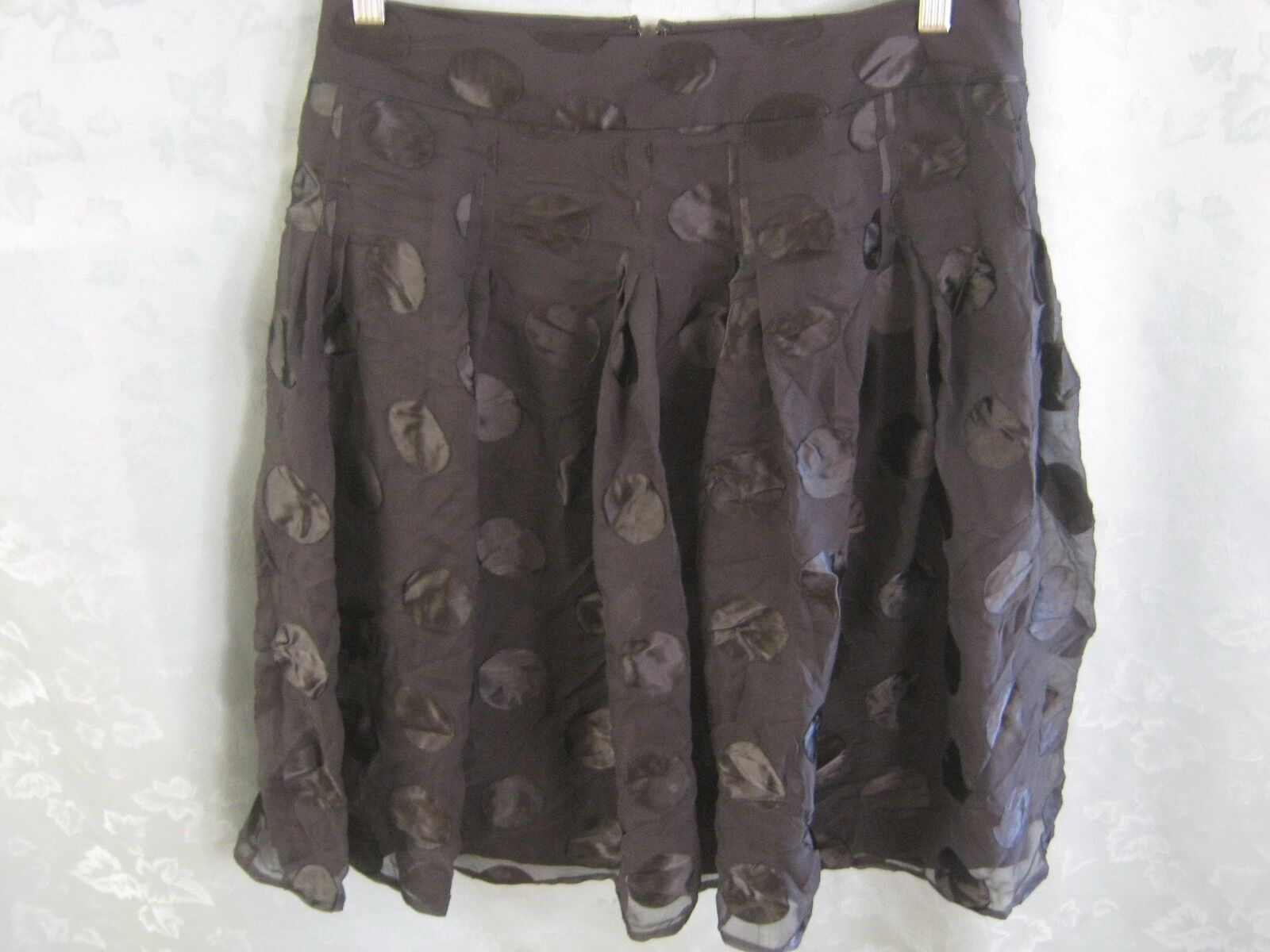 DKNYC Silk Blend Times Square Skirt Size 4 NWT Lined