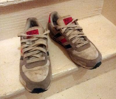 Baskets Adidas NEO en Toile et Cuir 42 Semelles impeccables | eBay